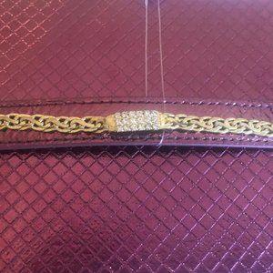 Cubic Zirconia Link Bracelet & Gift